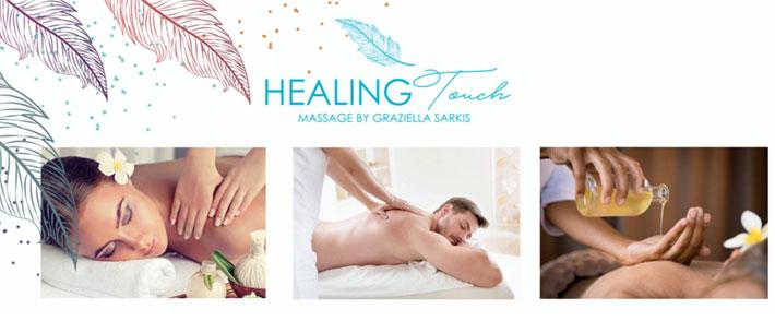 Healing Touch Massage by Graziella Sarkis