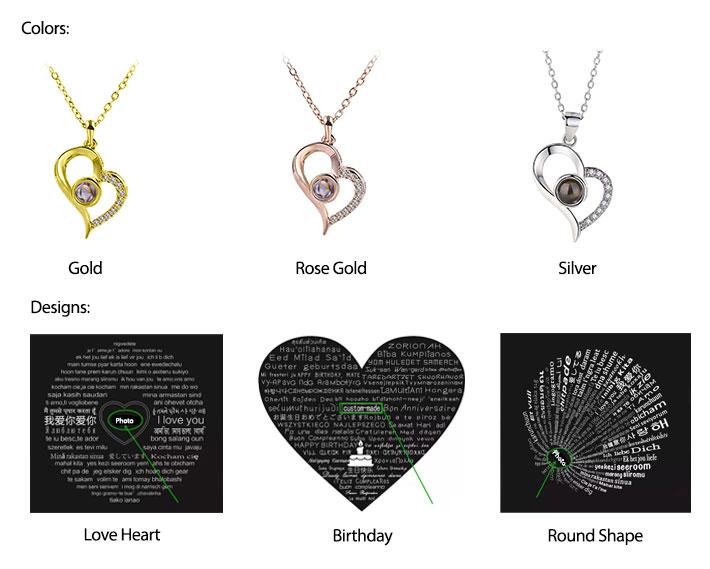 Customized Photo Necklace