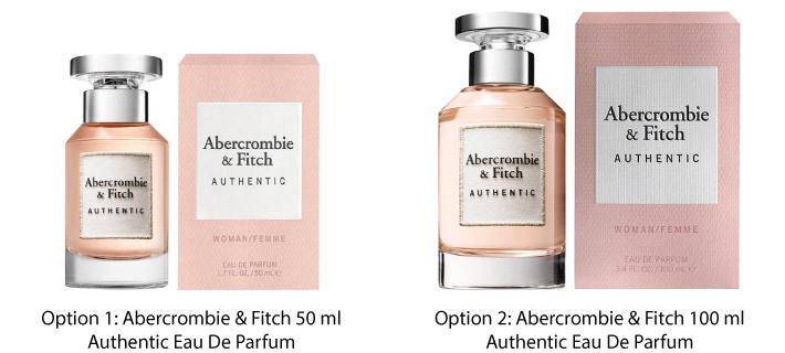 Abercrombie & Fitch Authentic Eau De Parfum for Her