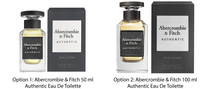 Abercrombie & Fitch Authentic Eau de Toilette For Him