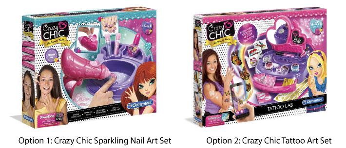 Clementoni Crazy Chic Art Set