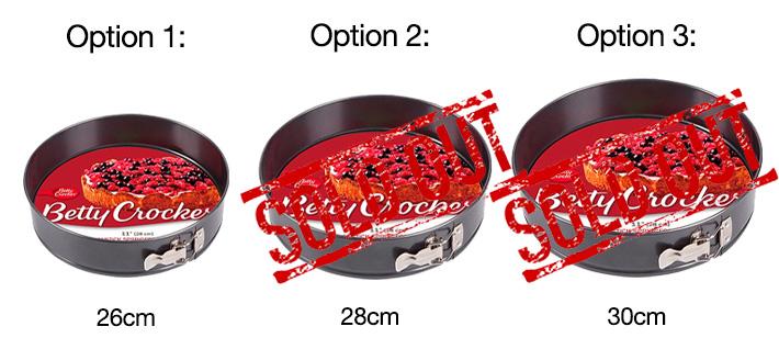 springform pan with 2 botooms