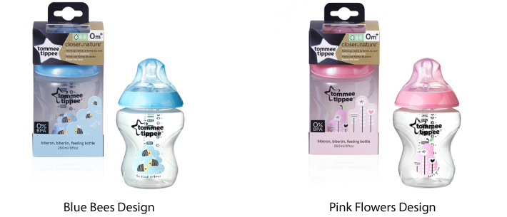 Tommee Tippee Closer To Nature 260 ml Slow Flow Bottle