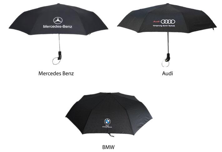 Car Brand Logo Automatic Umbrella