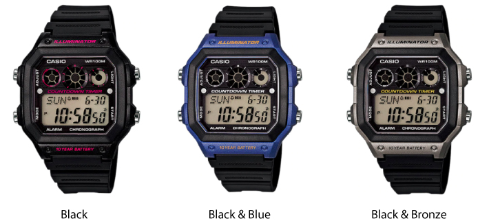 Casio Youth Collection Digital Watch