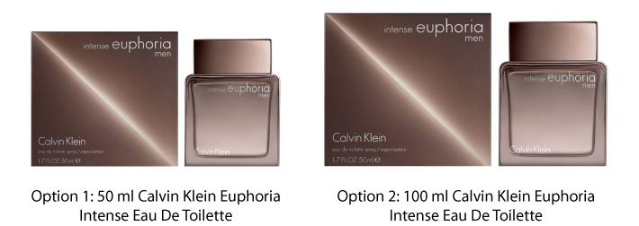 Calvin Klein Euphoria Intense Eau De Toilette For Him