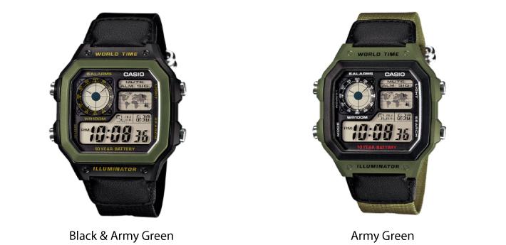 Casio Military Style Digital Watch