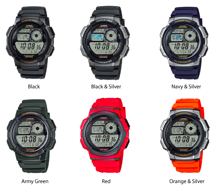 Casio Youth Series Digital Watch For men
