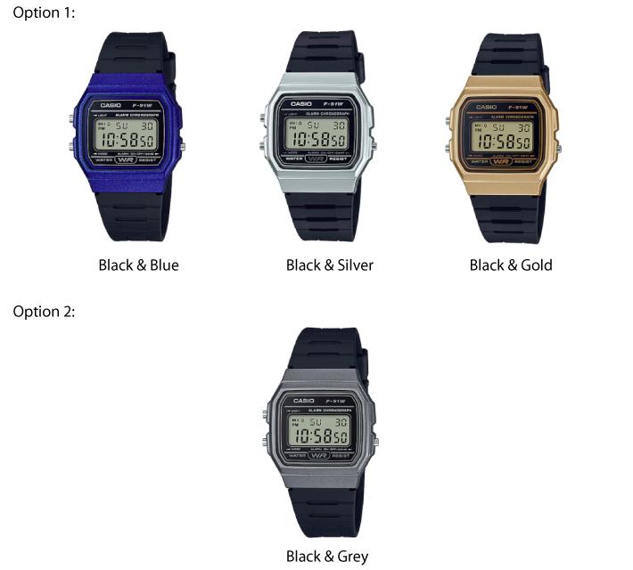 Casio Classic Series Unisex Digital Watch