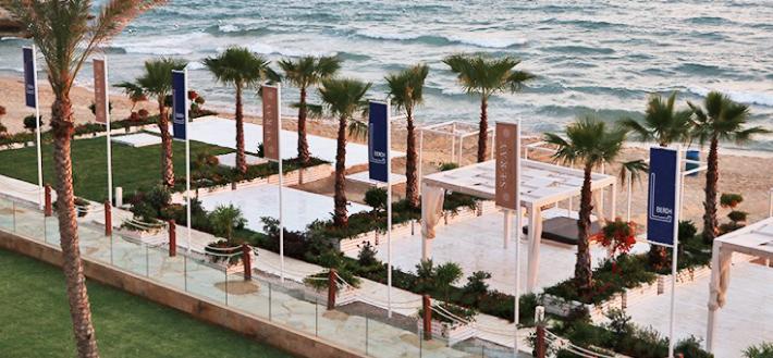 Beach & Pool Entrance