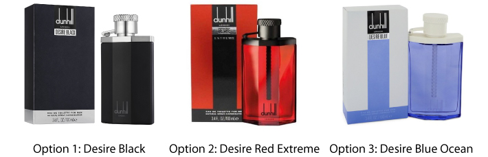 Dunhill 100 ml Desire Eau De Toilette For Him