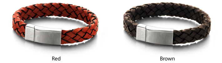 Frank Leather Stainless Steel Bracelet