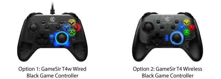 GameSir Black Game Contorller for PC