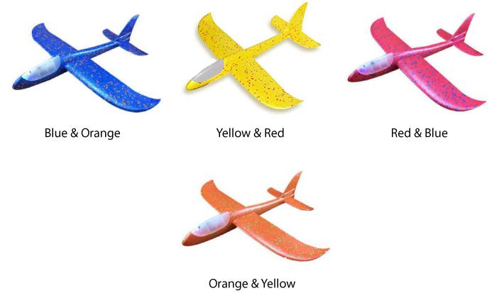 Glider Foam Plane