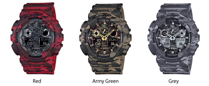 Casio G-Shock Camouflage Series Analog / Digital Watch