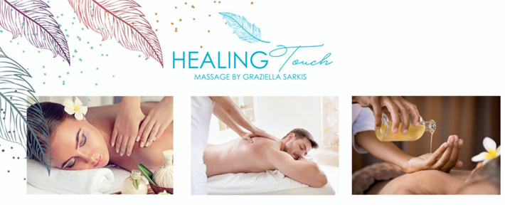 Healing Touch Massage by Graziella Sarkis