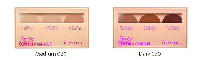 Rimmel Insta Conceal & Contour Palette