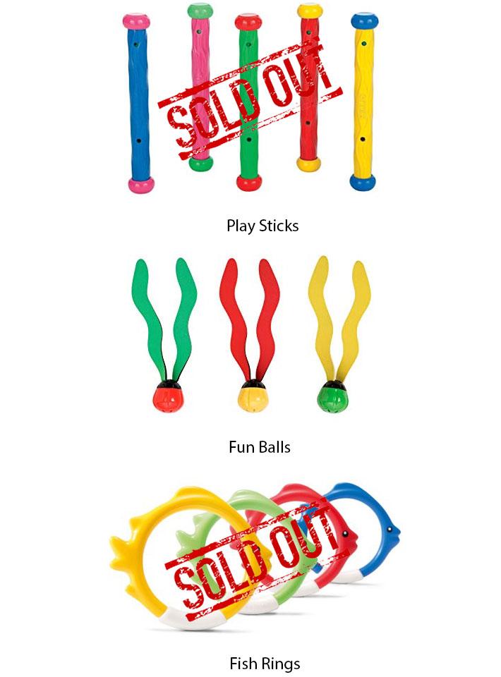 Intex Dive Toys