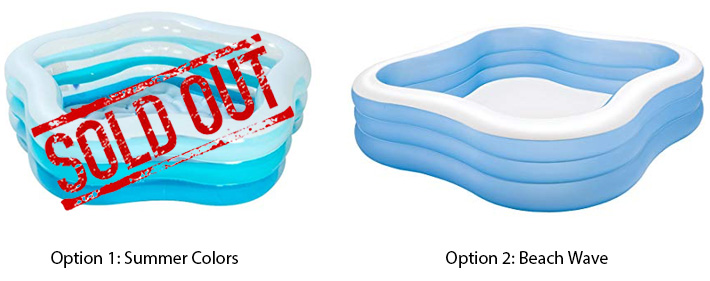 Intex Swim Center Pools