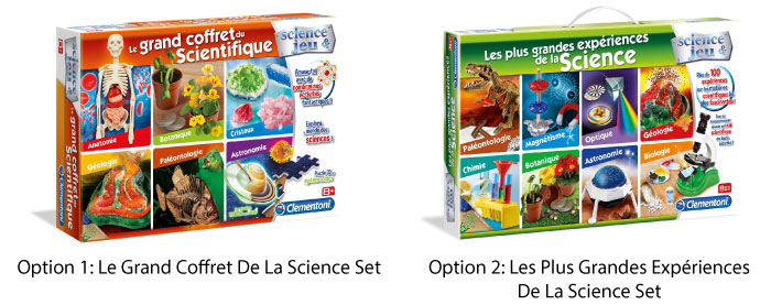 Clementoni Box Of Science Set