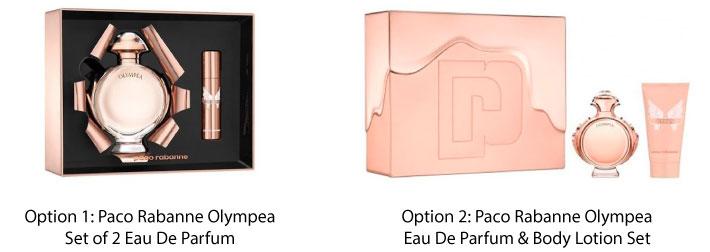 Paco Rabanne Olympea Eau De Parfum Set For Her