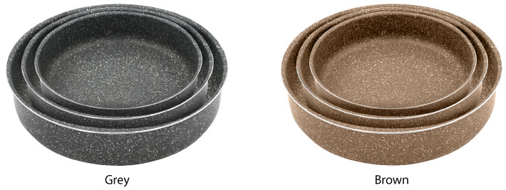 Marble Coated Baking Pan 3-Piece Set