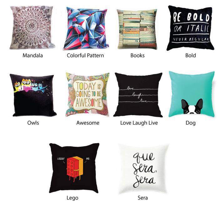 White Pillow Cushion