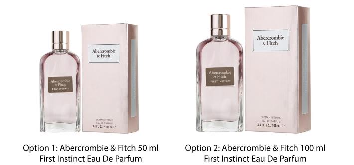 Abercrombie & Fitch First Instinct Eau De Parfum For Her