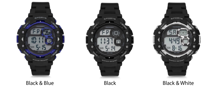 Polo Exchange Digital Watch For Men