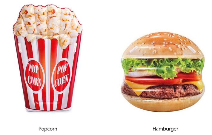 Intex Popcorn / Hamburger Float