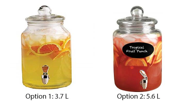 Tropical Fruit Punch Juice Jars