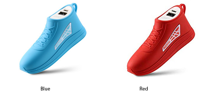 Remax 2500 mAh Running Shoe Power Bank