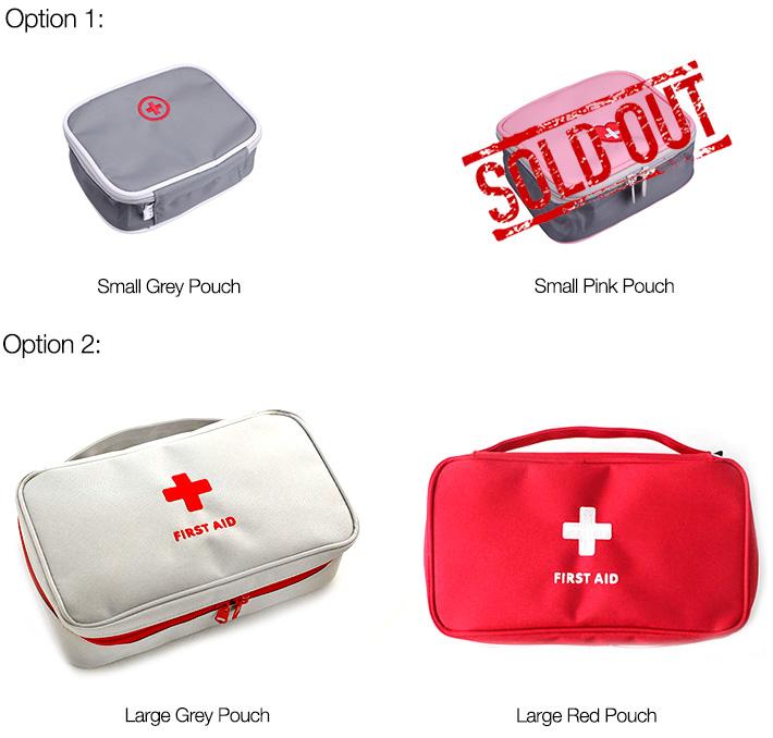 First Aid Pouch Organizer