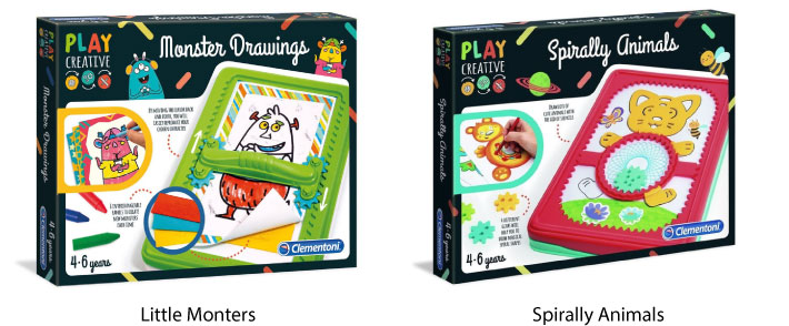 Clementoni Play Creative Drawing Set