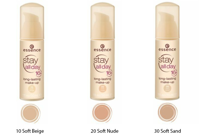 Essence Stay All Day 16H Foundation