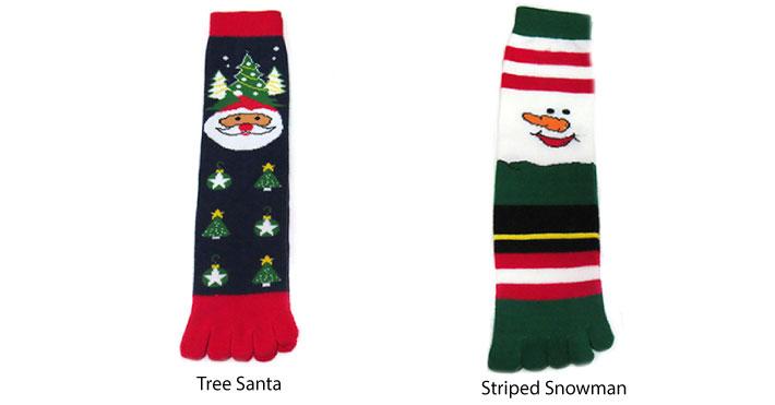 Christmas Toe Socks
