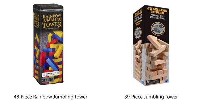Cardinal Jumbling Tower
