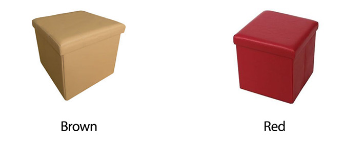 Collapsible Stool Box